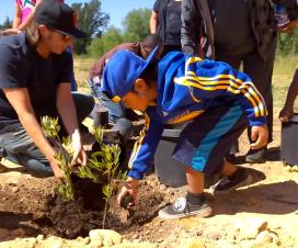 Pinoleville Pomo Nation Arbor Day Tree Planting