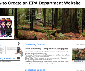 How To Develop A Department Website