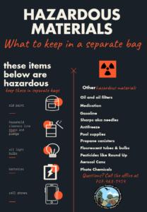 hazardous materials guide